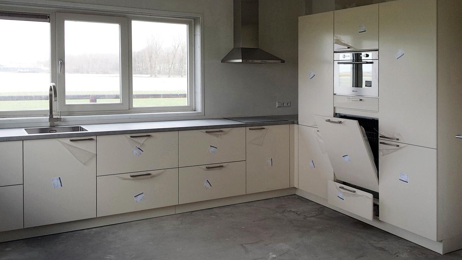 Verbouw van keuken