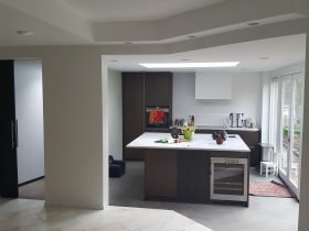 Aanbouw woning Lisse Keuken