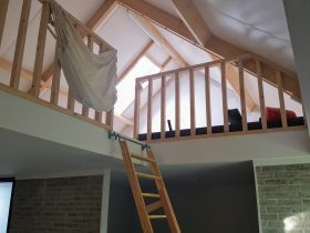 Aanbouw woning Lisse zolder